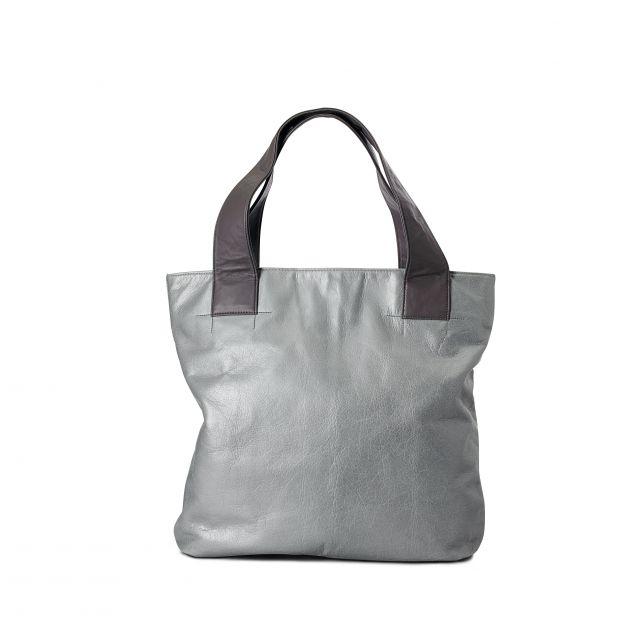 Audi x Michelle Vale - Silver tote bag