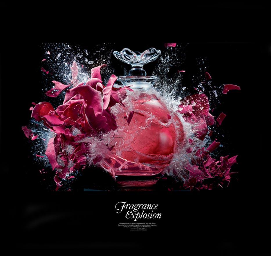 Harrrods Fragrance Explosion