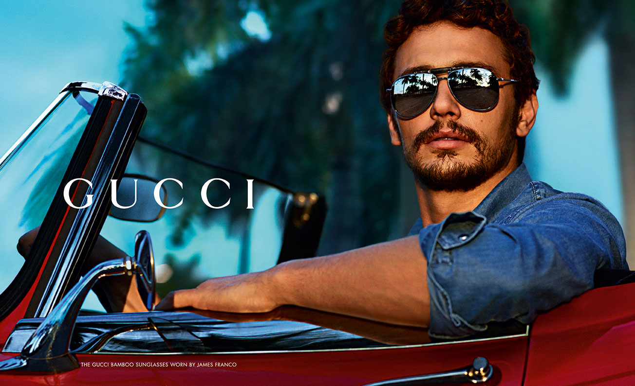 James Franco Gucci