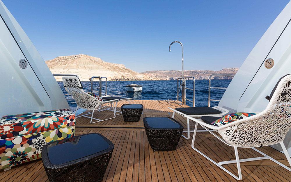 Benetti Ocean Paradise Deck