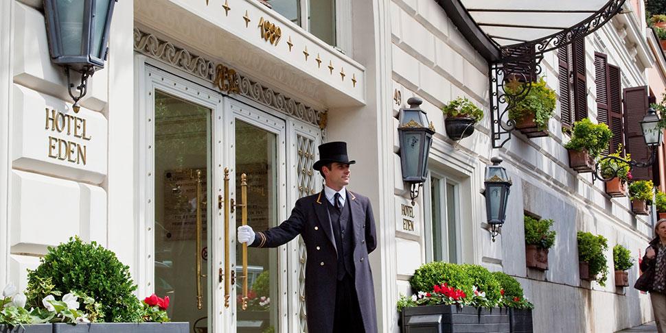 Dorchester Collection Hotel Eden Rome - Entrance