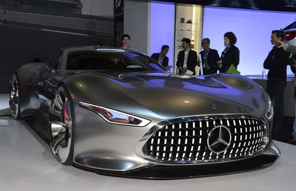 Mercedes Benz AMG Vision Gran Turismo Concept LAAS