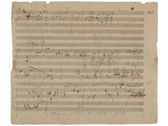 Beethovens Manuscript