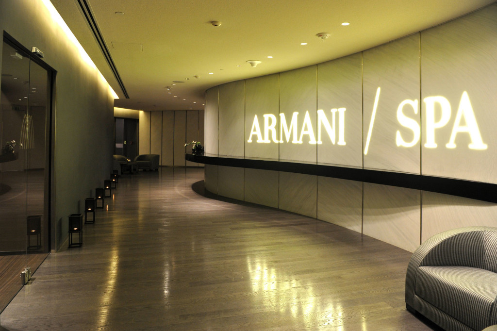 ARMANI / SPA FINAL TOUCHES: A collection of manicure and pedicure treatments to polish and perfect nails, hands and feet available in the Final Touches treatment suite