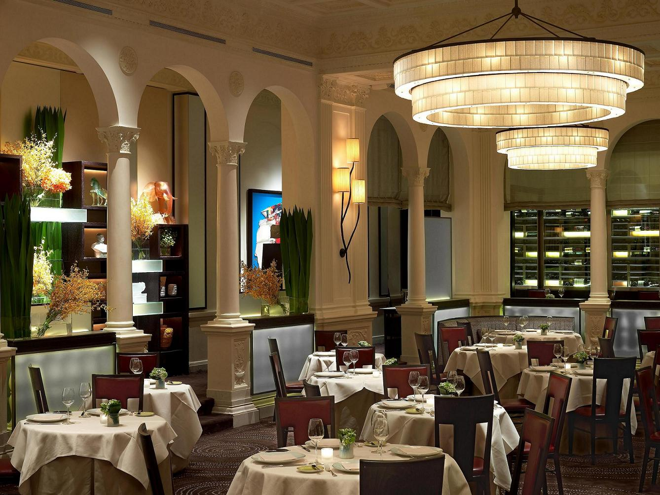 Top 10 restaurants in new york city legatto lifestyle for Surreal salon 8
