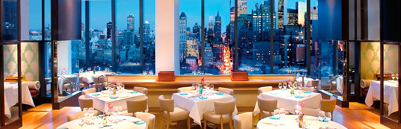 Top 10 Fine Dining With A View Legatto Lifestyle Magazine Dinnertable Best Nyc Restaurants