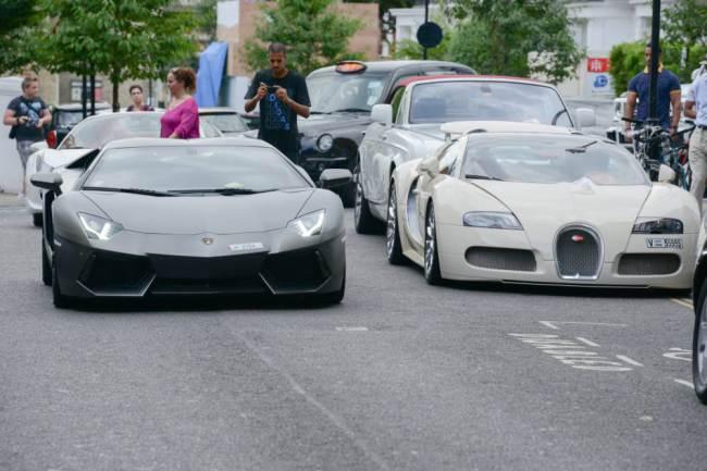 Lamborghini Aventador & Pagani Huayra