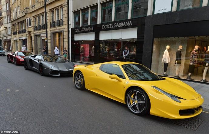Mclaren MP4 & Lamborghini