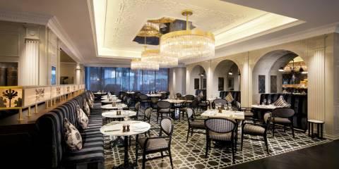 Jumeirah at Etihad Towers - Brasserie Angelique Interior