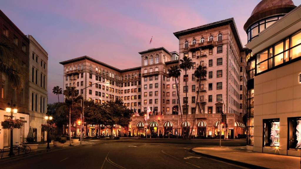 A history-rich luxury hotel in the heart of Beverly Hills, California, just steps from Rodeo Drive.