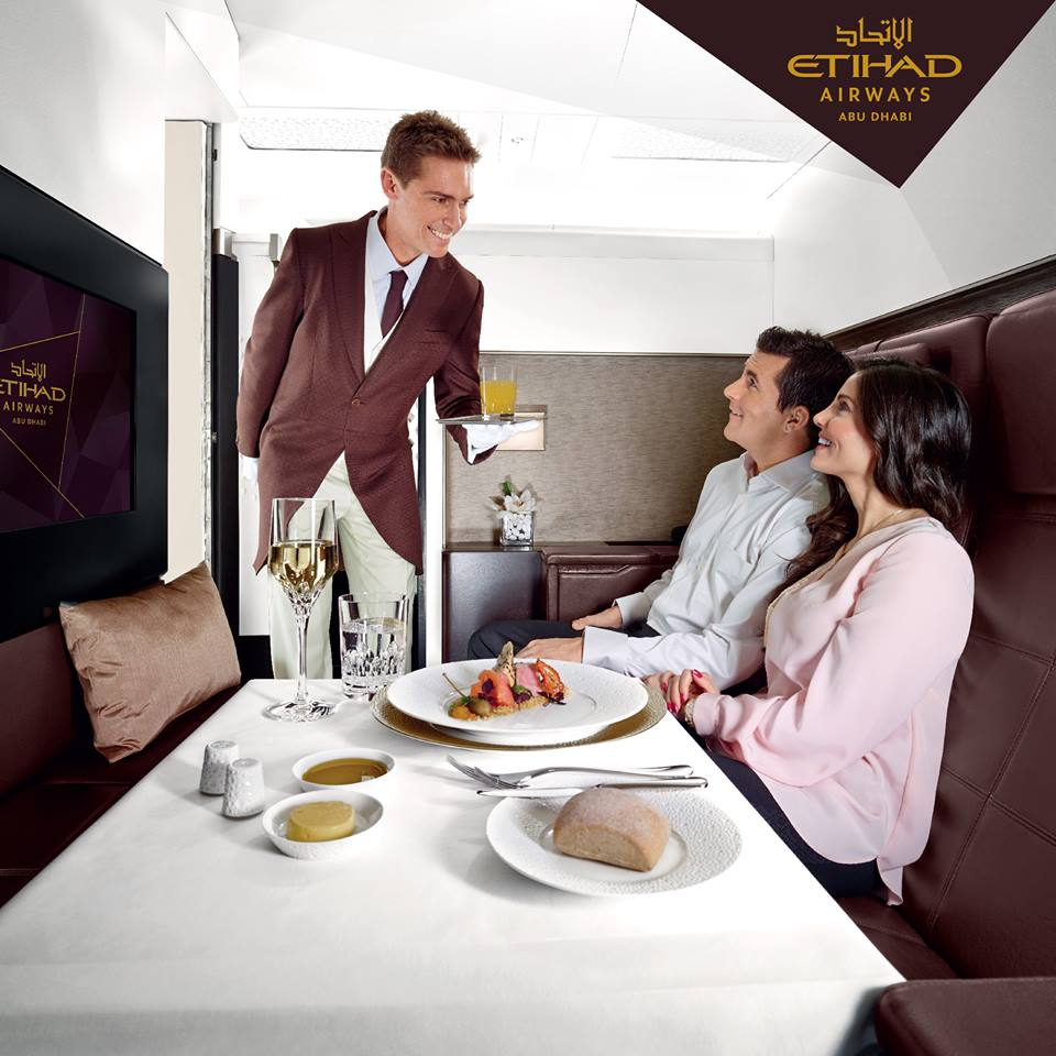Did you know that when you fly The Residence your personal Butler will serve you whatever food you would like to eat