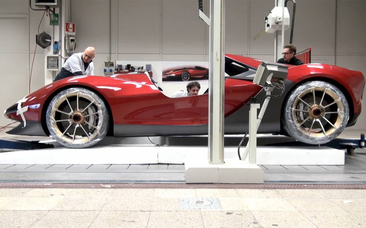 Superieur Each Of The Six Ferrari Sergios Was Configures By Its Owner In Dedicated  Session At Teh Tailor Made Atelier In Maranello Where Clients Are Invited  To ...
