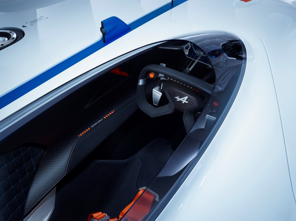 Alpine Vision GT Cabin View