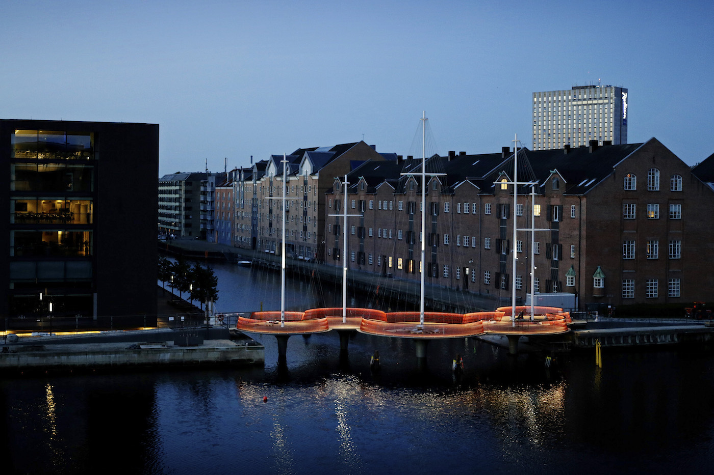 Cirkelbroen - Copenhagen (Olafur Eliasson)