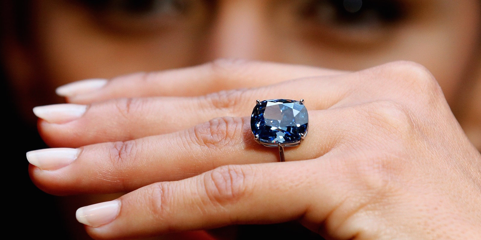 Blue Moon Diamond - Sothebys