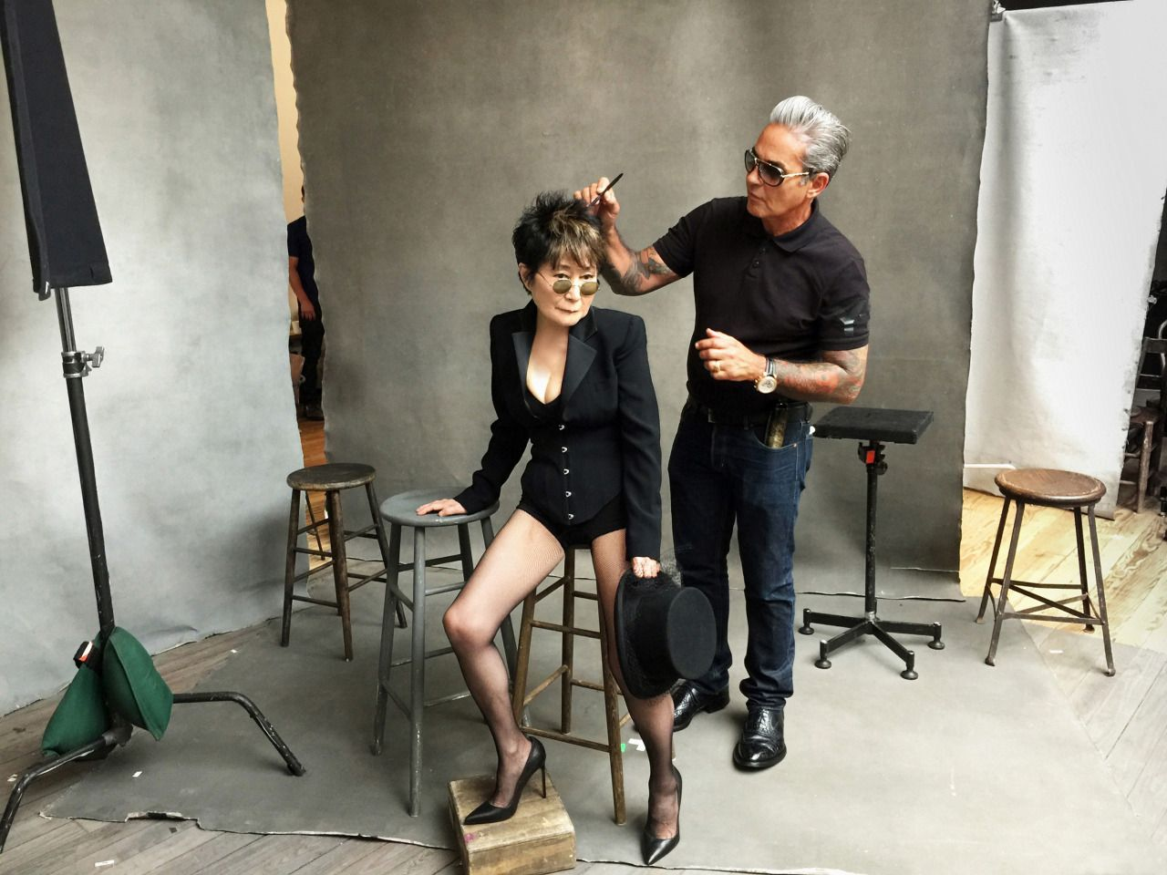 Yoko Ono Pirelli Calendar