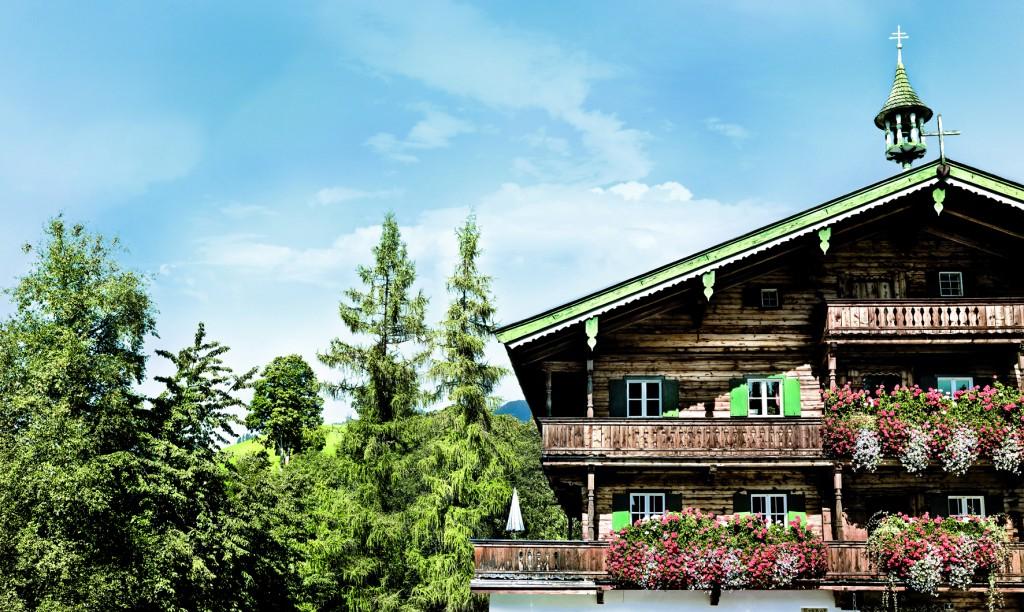 Austrian ski resort Kitzbuehel - Hotel