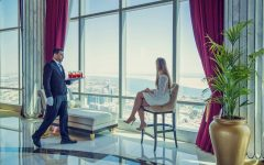 Brunch in the clouds - St. Regis Abu Dhabi - Abu Dhabi Suite