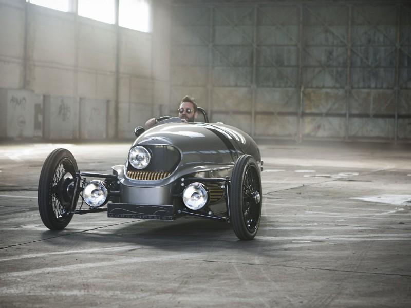 British Carmaker Morgan Debuts Three Wheel Plug In Car Legatto