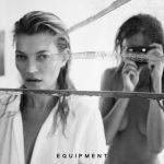 Kate Moss x Equipment FR