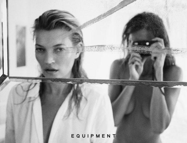 Kate Moss x Equipment FR