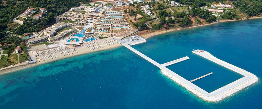 Miraggio Thermal Spa Resort - Aerial View