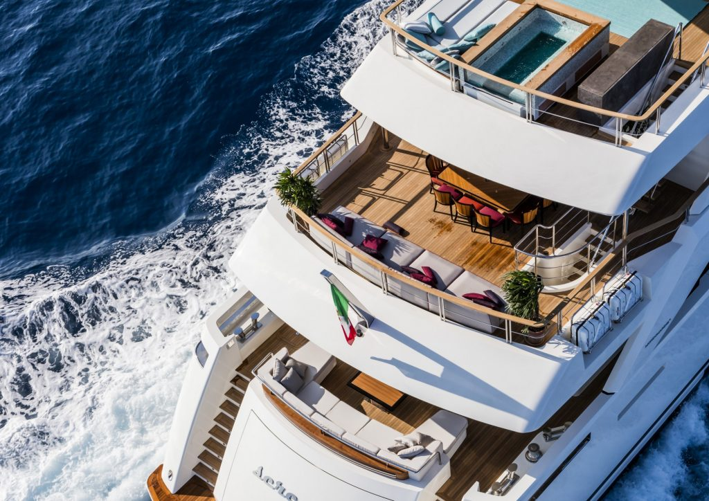 Mondomarine - SF40 Serenity Superyacht - Exterior