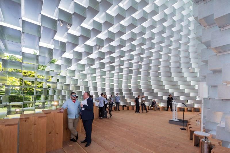 Serpentine Gallery Pavilion 2016 by Bjarke Ingles Group (Inside)