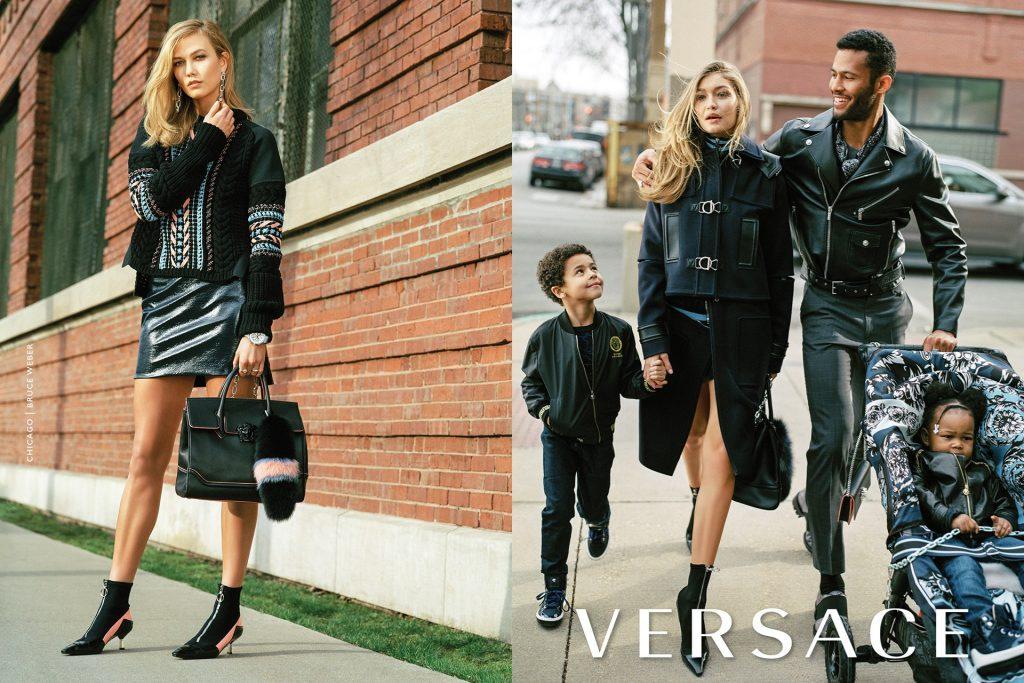 Versace Campaign - Gigi Hadid & Karlie Kloss-