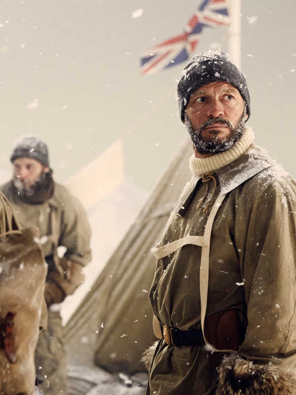 Dominic West as Ernest Shackleton